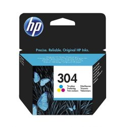 HP N9K05AE 304 (color) tintapatron