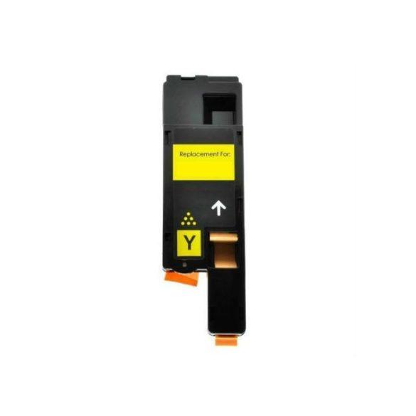 Xerox 6020, 6022, 6025, 6027  utángyártott prémium toner - YELLOW, sárga