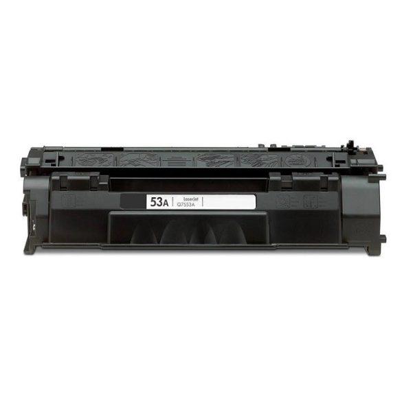 HP Q7553A, 53A utángyártott prémium toner (Laserjet P2014, P2015, M2727) 3000 oldal