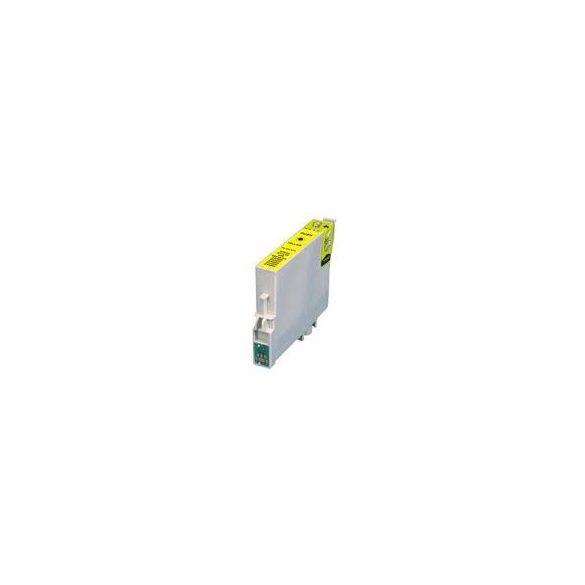 Epson T0714 Y. (sárga) prémium kategóriájú utángyártott tintapatron, patron