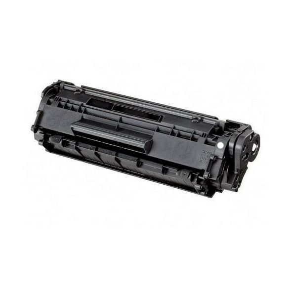 HP Q2612A, 12A utángyártott prémium toner (Laserjet 1010, 1018, 1020, 1022, 3050, stb.) -2500 oldal