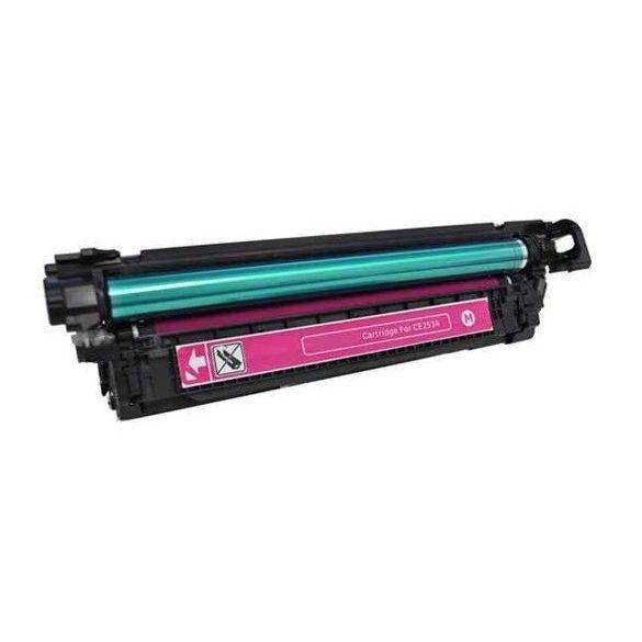 HP CE403A (507A), magenta-bíbor prémium utángyártott TONER (laserjet m500 m551) 7000 oldal