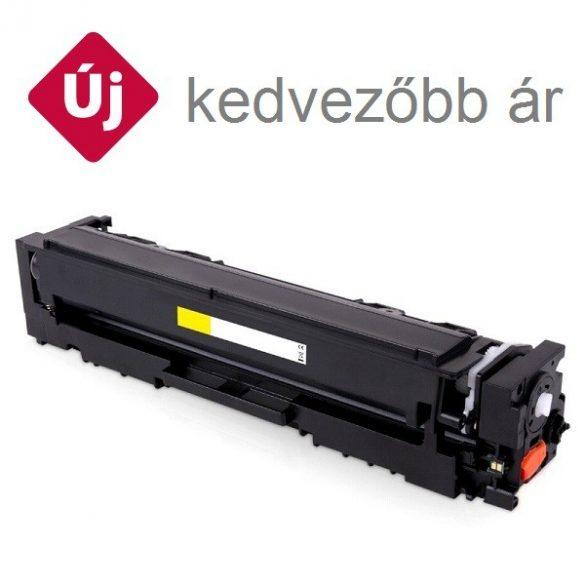 HP CF542X (203X), yellow, sárga prémium  utángyártott TONER, (Color LaserJet Pro M254, MFP 280-281) 2500 oldal  (CF540A nagy kapacitással)