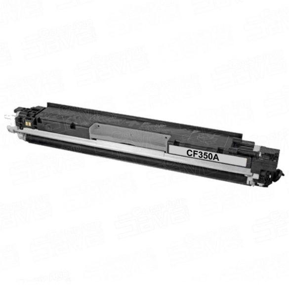 HP CF350A (130A), fekete-black prémium utángyártott TONER, 1300 oldal (mfp m176, m177, cp1020, cp1025)