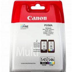 Canon PG-545 bk + CL-546 c  eredeti tintapatron multipack (pg545/cl546)