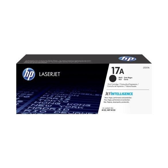 HP CF217A No.17A Black lézertoner eredeti1,6K