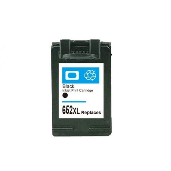 HP 652XL (F6V25AE) Bk, fekete prémium utángyártott tintapatron, patron - 3xos kapacitású!