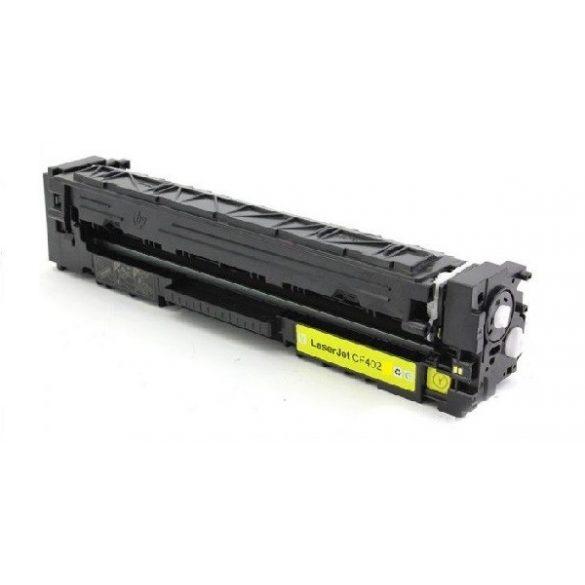 HP CF402X (201X), YELLOW, SÁRGA prémium utángyártott TONER xl 2400 oldal