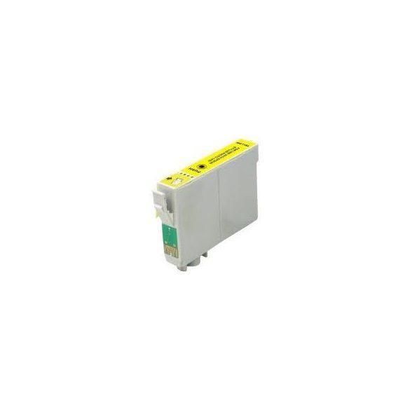 Epson T1284 Y. (sárga) prémium kategóriájú utángyártott tintapatron, patron