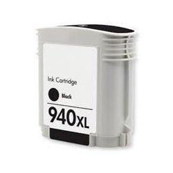 HP C4906A, 940 XL (bk, fekete) prémium kategóriájú utángyártott chipes tintapatron, patron