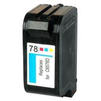 HP C6578A, 78 prémium kategóriájú utángyártott tintapatron, patron