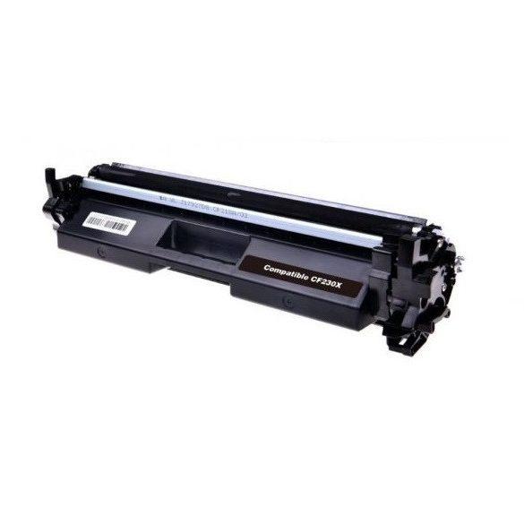 HP CF230X (30X) utángyártott prémium toner ( LaserJet Pro M203, MFP M227) 3500 oldal