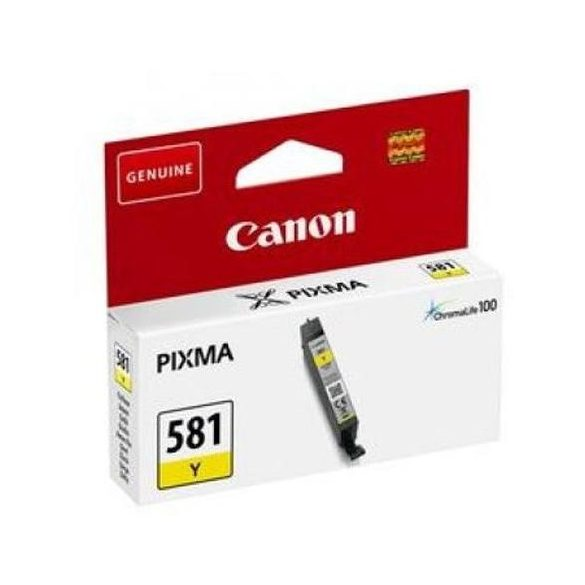Canon CLI-581 Y yellow eredeti patron