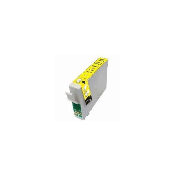 Epson T0444 Y. (sárga) prémium kategóriájú utángyártott tintapatron, patron