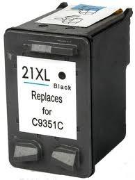 HP C9351, 21 XL prémium kategóriájú utángyártott tintapatron, patron