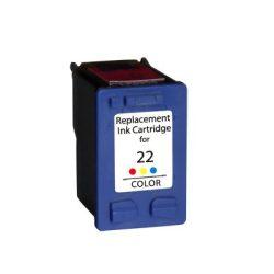 HP C9352, 22 XL prémium kategóriájú utángyártott tintapatron, patron