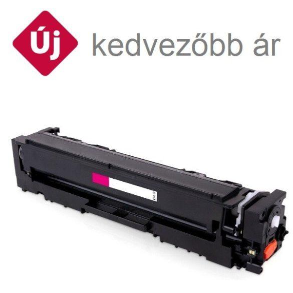 HP CF543X (203X), magenta, bíbor prémium  utángyártott TONER, (Color LaserJet Pro M254, MFP 280-281) 2500 oldal  (CF540A nagy kapacitással)