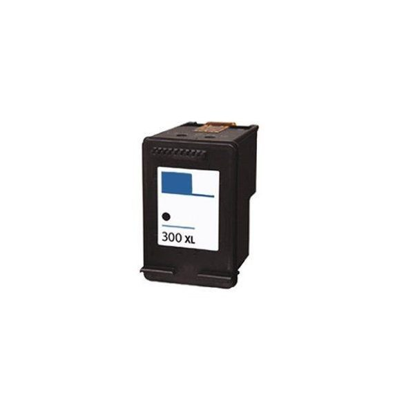 HP CC641EE, 300 XL (Bk, fekete) prémium kategóriájú utángyártott tintapatron, patron (300XL)