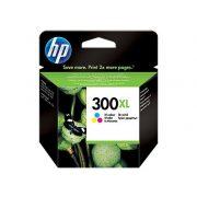 HP CC644EE, 300 XL (C, színes) tintapatron
