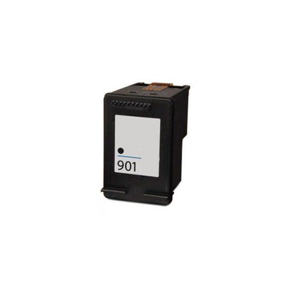 HP CC654AE, 901 XL (Bk, fekete) prémium kategóriájú utángyártott tintapatron, patron (901XL)