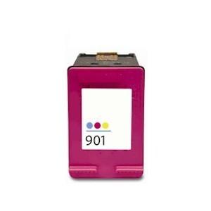 HP CC656AE, 901 XL (c, színes) prémium kategóriájú utángyártott tintapatron, patron