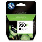HP CD975AE, 920 XL (Bk, fekete) tintapatron
