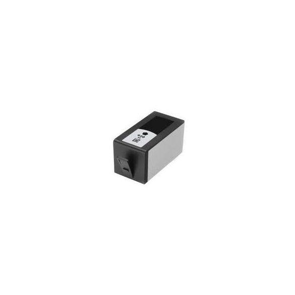 HP CD975AE, 920 XL (Bk, fekete) prémium kategóriájú utángyártott chipes tintapatron, patron