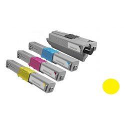 OKI C310/C330/C510/C530/C531 utángyártott prémium toner YELLOW-SÁRGA 2000 oldal