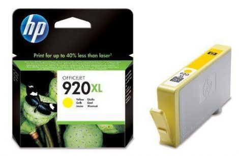 HP CD974AE, 920 XL (yellow, sárga) tintapatron