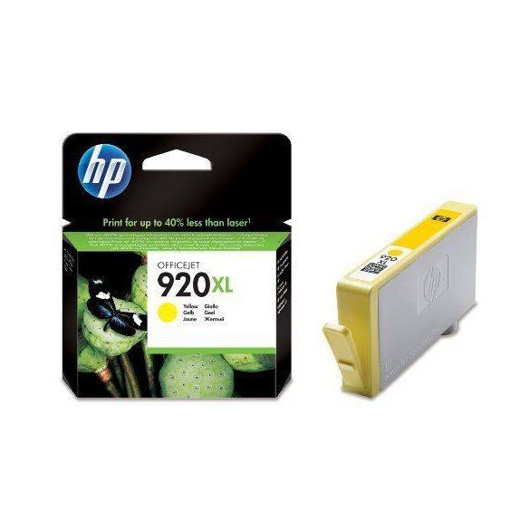 HP CD974AE, 920 XL (yellow, sárga) tintapatron