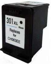 HP CH563EE, 301 XL (Bk, fekete) prémium kategóriájú utángyártott tintapatron, patron