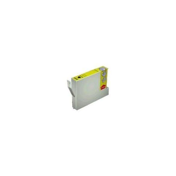 Epson T0804 Y. (sárga) tintapatron prémium kategóriájú utángyártott tintapatron, patron