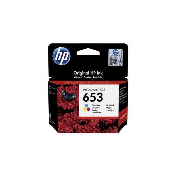 HP 653 (3YM74AE) - patron, color (színes)