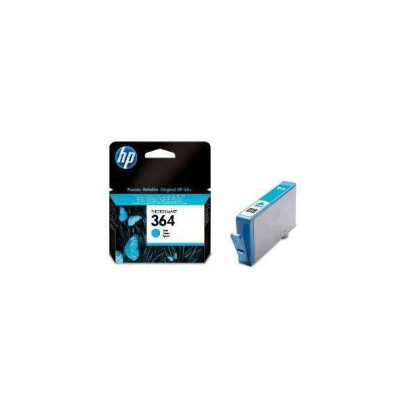 HP CB318EE, 364 (cyan, kék) tintapatron