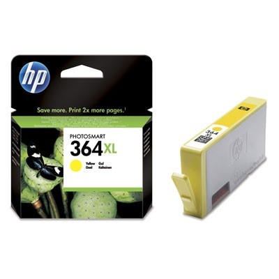 HP CB325EE, 364 XL (yellow, sárga) tintapatron
