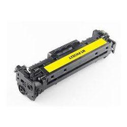 HP CF382A yellow (312A) utángyártott prémium kategóriájú toner 2700 oldal