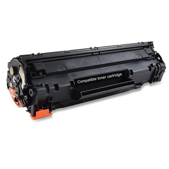 HP CB436A, 36A utángyártott prémium toner (HP laserjet M1522, P1505, M1120) 2000 oldal