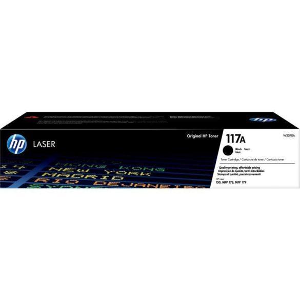 Toner HP W2070A (117A), fekete (black), eredeti