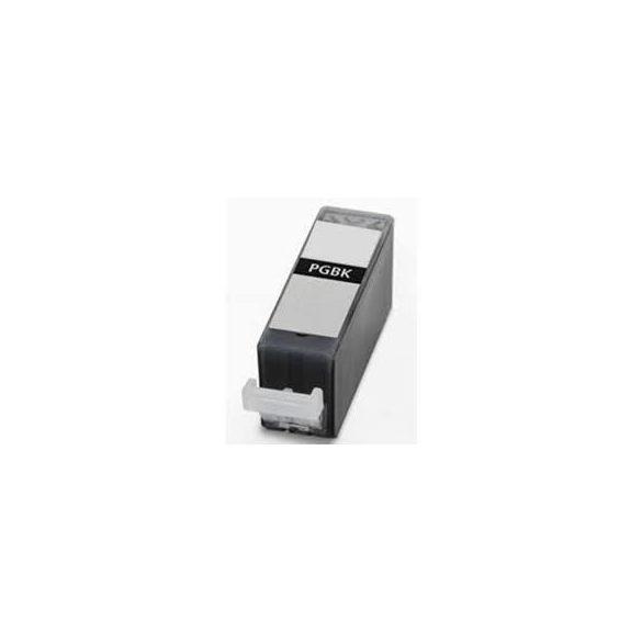 CANON PGI-525 Bk. (fekete) prémium kategóriájú utángyártott chipes tintapatron, patron