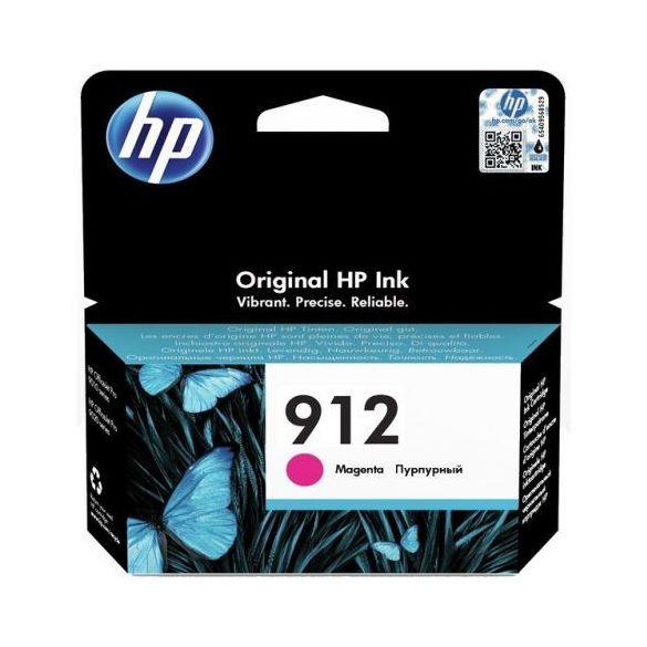 HP 912, 3YL78AE tintapatron, bíborvörös (magenta), eredeti