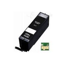 CANON PGI-550 PGBK. XL (fekete) prémium kategóriájú utángyártott chipes tintapatron