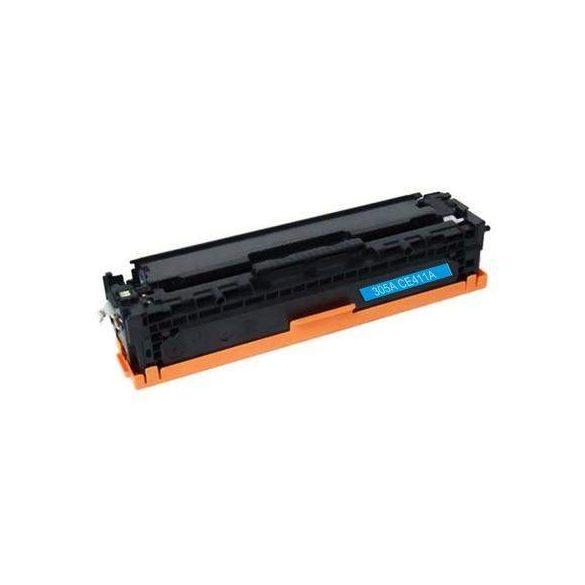 HP CE411A, 305A (kék-cyan) utángyártott prémium toner