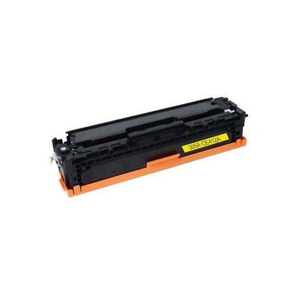 HP CE412A, 305A (sárga-yellow) utángyártott prémium toner