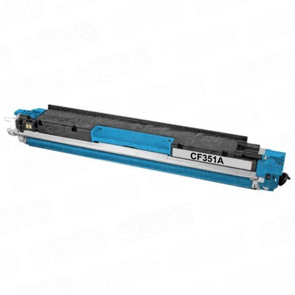 HP CF351A (130A), CYAN, KÉK prémium utángyártott TONER, 1000 oldal
