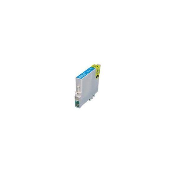 Epson T0712 C. (kék) prémium kategóriájú utángyártott tintapatron, patron