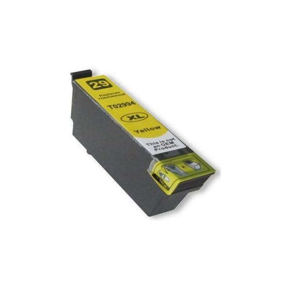 EPSON 29XL ( T2994) yellow prémium kategóriájú utángyártott tintapatron