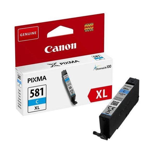 Canon CLI-581 XL C cyan kék eredeti patron