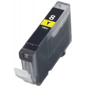 CANON CLI-8 Y. (sárga) prémium kategóriájú utángyártott tintapatron Chipes, patron