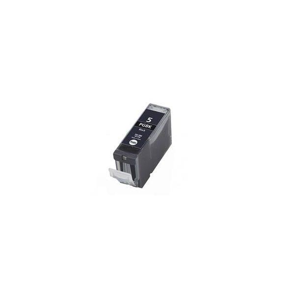 CANON PGI-5 BK. (fekete) prémium kategóriájú utángyártott tintapatron Chipes, patron