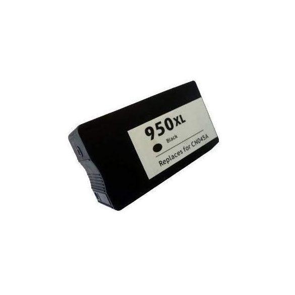 HP CN045AE, 950XL (bk. fekete) prémium kategóriájú utángyártott chipes tintapatron, patron